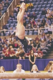 Side Gainer full dismount sequence, 2 of 3, Morgantown Regional